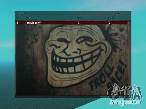 Sampgui TrollFace für GTA San Andreas