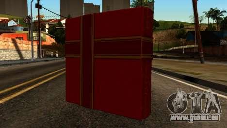 New Year Remote Explosives pour GTA San Andreas deuxième écran
