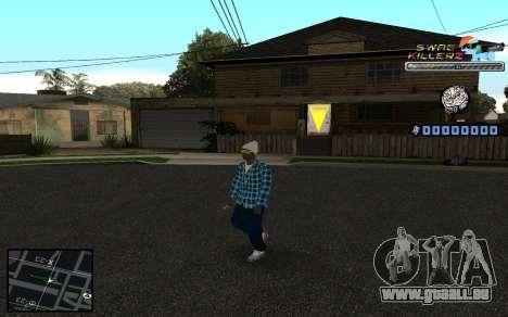 C-HUD SWAG Killerz pour GTA San Andreas troisième écran