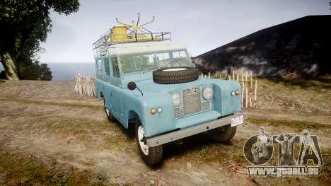 Land Rover Series II 1960 v2.0 pour GTA 4