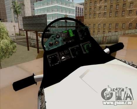 Air bike pour GTA San Andreas vue arrière