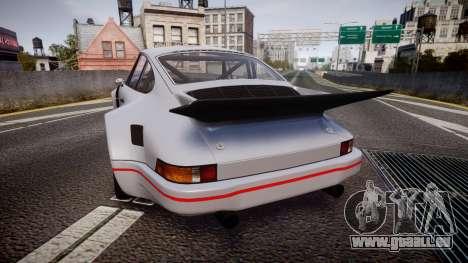 Porsche 911 Carrera RSR 3.0 1974 für GTA 4 hinten links Ansicht