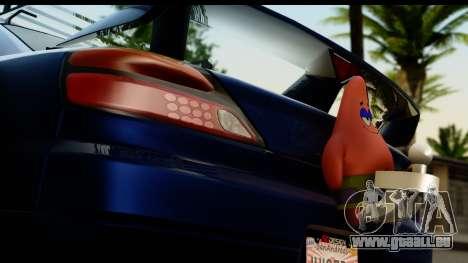 Nissan Silvia S15 Camber Edition für GTA San Andreas Rückansicht