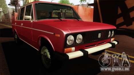 VAZ Lada 2106 v2 pour GTA San Andreas vue de droite