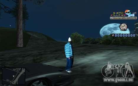 C-HUD SWAG Killerz pour GTA San Andreas septième écran