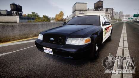 Ford Crown Victoria Sheriff [ELS] rims1 für GTA 4