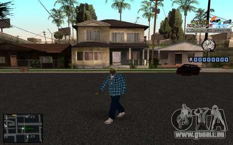 C-HUD SWAG Killerz pour GTA San Andreas quatrième écran