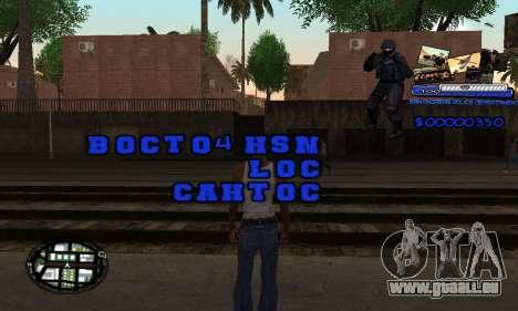 C-HUD SAPD für GTA San Andreas zweiten Screenshot