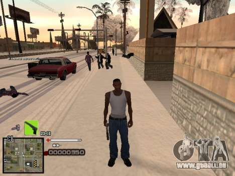 Un simple C-PALETTE pour GTA San Andreas