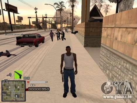 Un simple C-PALETTE pour GTA San Andreas troisième écran