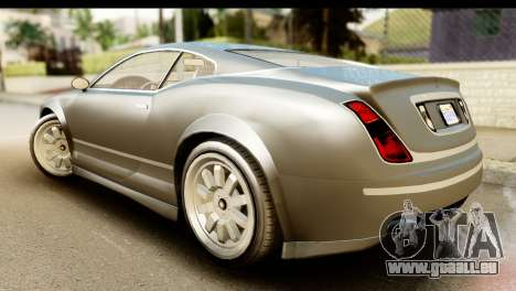 GTA 5 Enus Cognoscenti Cabrio SA Mobile für GTA San Andreas linke Ansicht