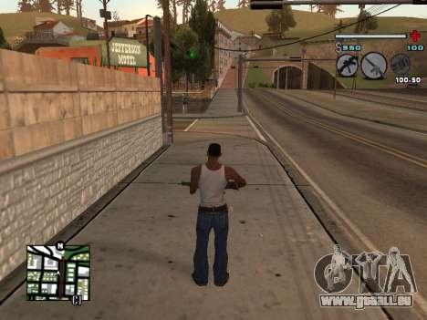 C-HUD Universal v3 pour GTA San Andreas