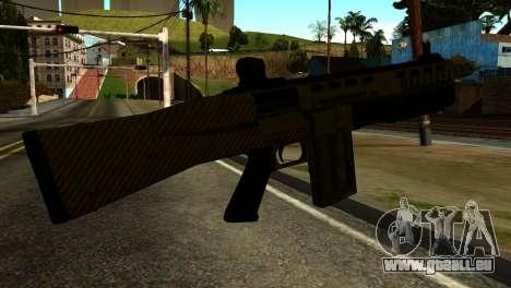 Bullpup Shotgun from GTA 5 pour GTA San Andreas deuxième écran