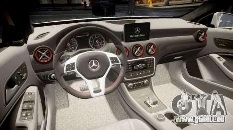 Mersedes-Benz A45 AMG PJs3 pour GTA 4 est un côté