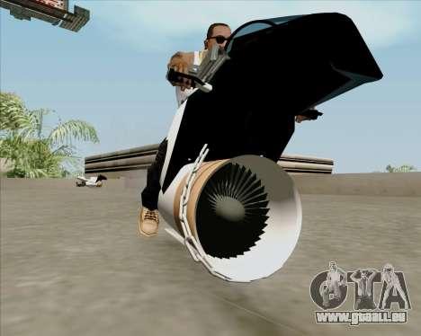 Air bike pour GTA San Andreas vue de droite