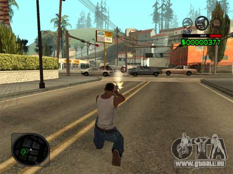 C-HUD by Radion für GTA San Andreas her Screenshot