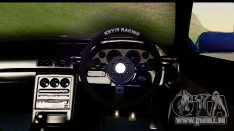 Nissan Skyline R32 Targa für GTA San Andreas Rückansicht