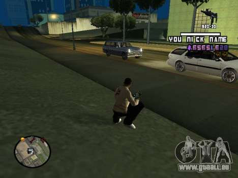 C-HUD by SantiManti für GTA San Andreas zweiten Screenshot