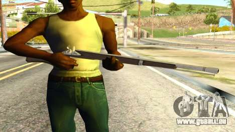 Rifle from GTA 5 pour GTA San Andreas troisième écran