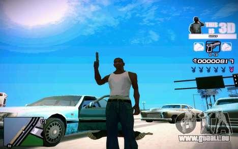 HUD 3D für GTA San Andreas