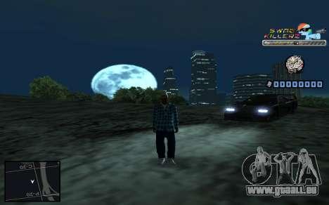 C-HUD SWAG Killerz pour GTA San Andreas sixième écran