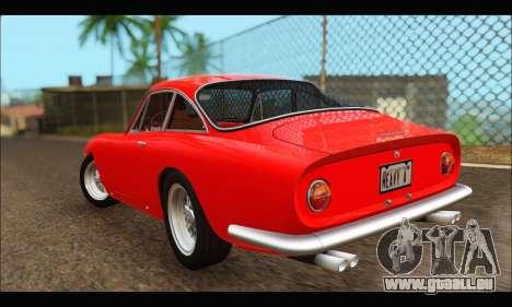 Ferrari 250 GT Berlinetta Lusso 1962 (HQLM) pour GTA San Andreas sur la vue arrière gauche