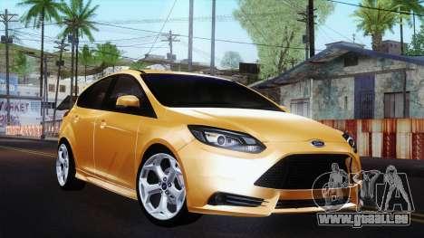 Ford Focus ST 2013 für GTA San Andreas
