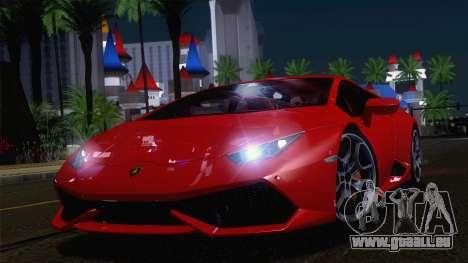 ENBSeries by Blackmore 0.075c pour GTA San Andreas deuxième écran