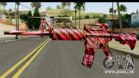 Red Tiger M4 pour GTA San Andreas