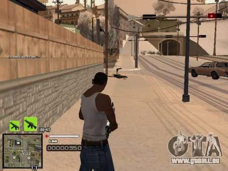 Ein einfaches C-HUD für GTA San Andreas