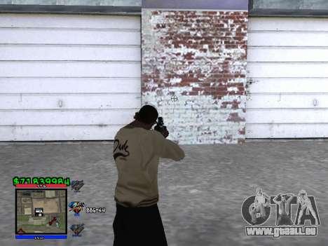 C-HUD by Santi pour GTA San Andreas