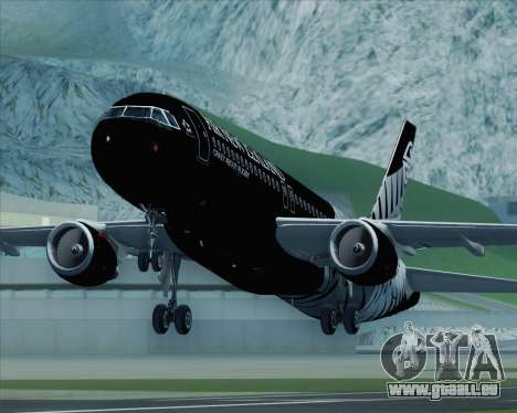 Airbus A320-200 Air New Zealand pour GTA San Andreas