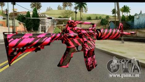 Red Tiger M4 für GTA San Andreas zweiten Screenshot