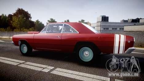 Dodge Dart HEMI Super Stock 1968 rims2 für GTA 4 linke Ansicht