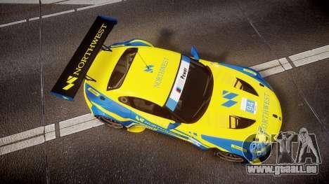 BMW Z4 GT3 2012 Northwest pour GTA 4 est un droit