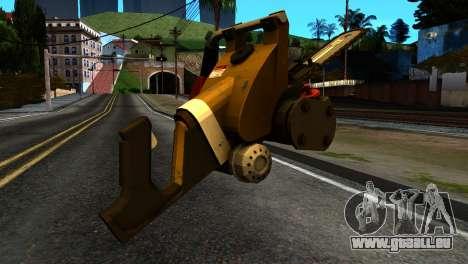 New Chainsaw für GTA San Andreas zweiten Screenshot