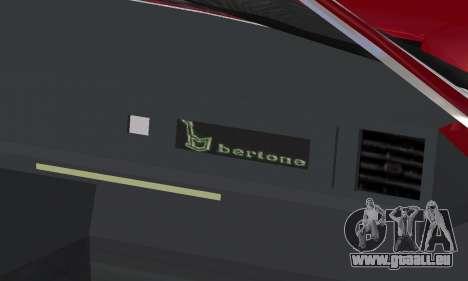 Fiat Bertone X1 9 pour GTA San Andreas roue
