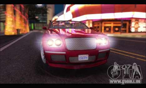 Enus Cognoscenti Cabrio (GTA V) pour GTA San Andreas vue de droite