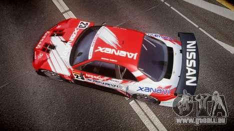 Nissan Skyline R34 2003 JGTC Xanavi für GTA 4 rechte Ansicht