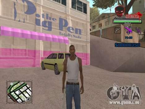 C-HUD by VinC pour GTA San Andreas