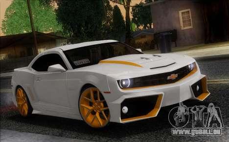 Chevrolet Camaro VR (IVF) pour GTA San Andreas vue de droite
