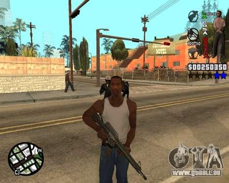 C-HUD La Cosa Nostra pour GTA San Andreas