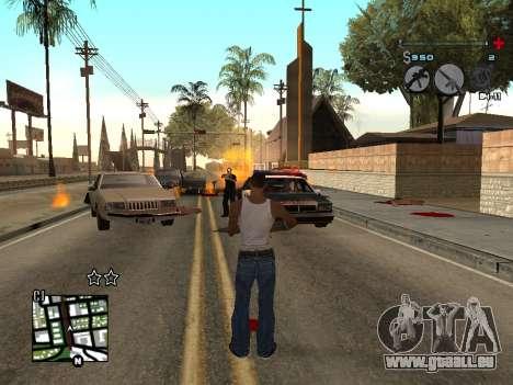 C-HUD Universal v3 pour GTA San Andreas troisième écran