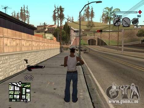 C-HUD Universal v3 pour GTA San Andreas deuxième écran