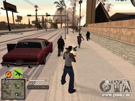 Ein einfaches C-HUD für GTA San Andreas her Screenshot