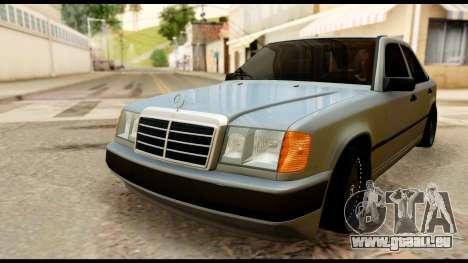 Mercedes-Benz 190E pour GTA San Andreas vue de droite