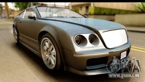 GTA 5 Enus Cognoscenti Cabrio SA Mobile für GTA San Andreas rechten Ansicht
