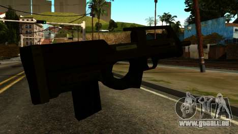 Assault SMG from GTA 5 für GTA San Andreas zweiten Screenshot
