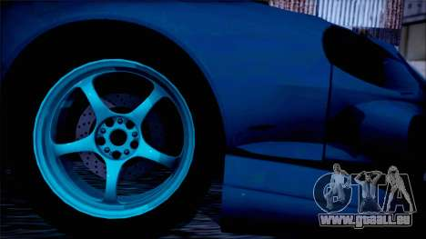 Toyota Сelica pour GTA San Andreas sur la vue arrière gauche