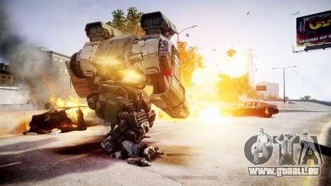 Enhanced Power Armor pour GTA 4 quatrième écran
